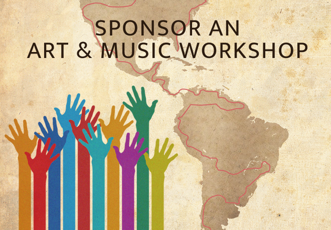 Sponsor an Art Music Workshop Art We There Yet